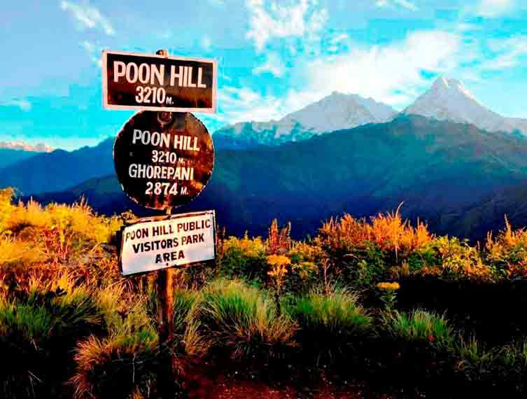 Annapurna Village Poon hill Trek